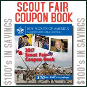 Scout Fair Coupon Books